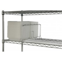 Focus Foodservice FSD24C 24'' Shelf Divider - 4 pcs