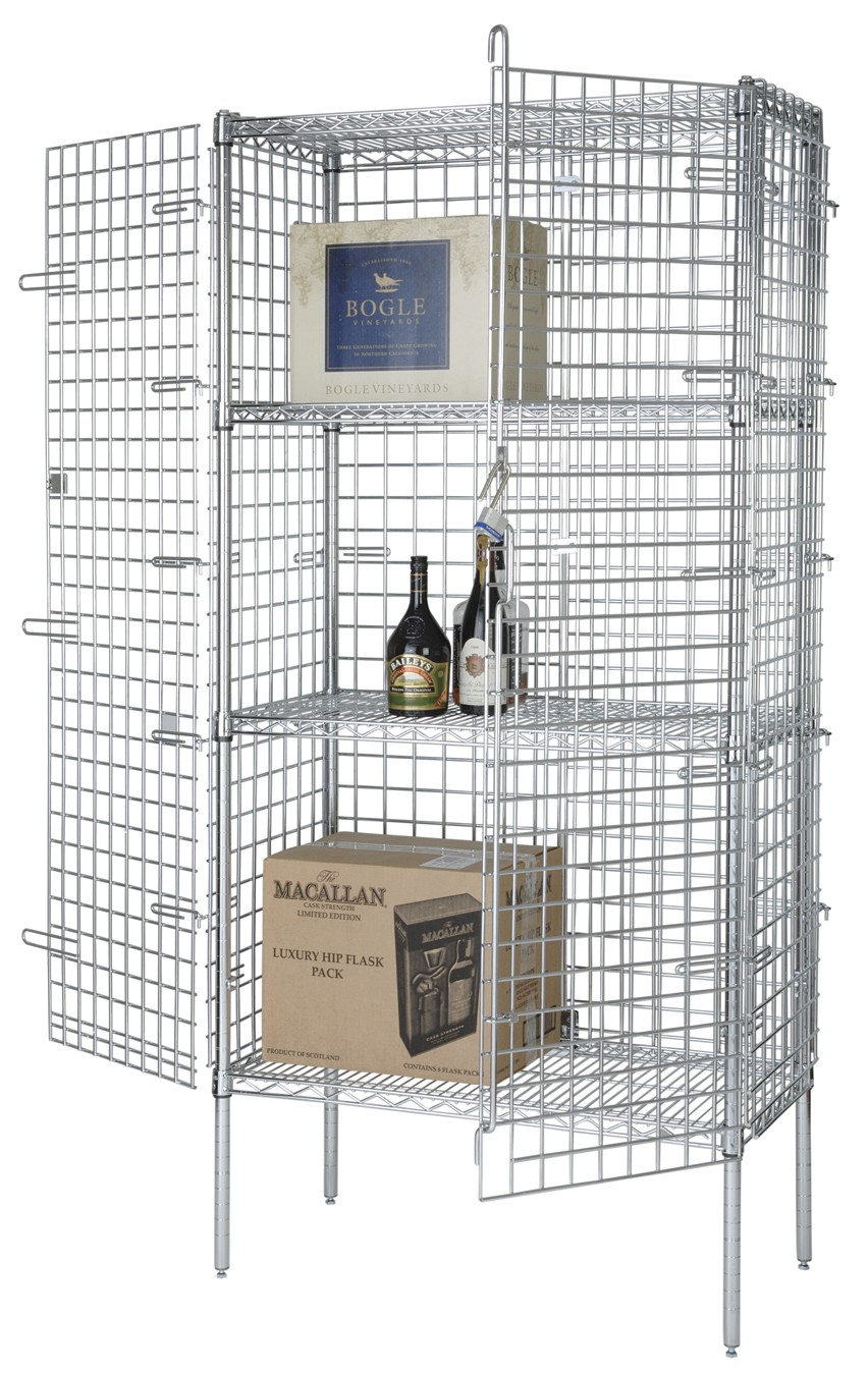 Focus Foodservice FSEC184863 18'' Security Cage Kit