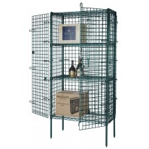 Focus Foodservice FSEC243663GN 24'' Security Cage Kit