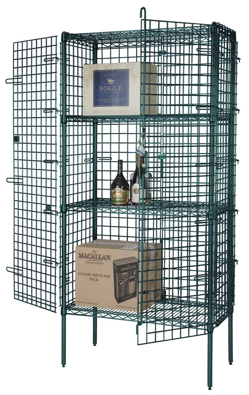Focus Foodservice FSEC246063GN 24'' Security Cage Kit