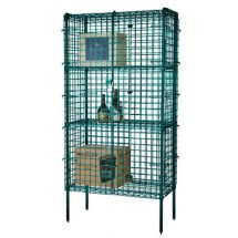 Focus Foodservice FSSEC2460GN 24'' Security Cage Complete Stationary Kit
