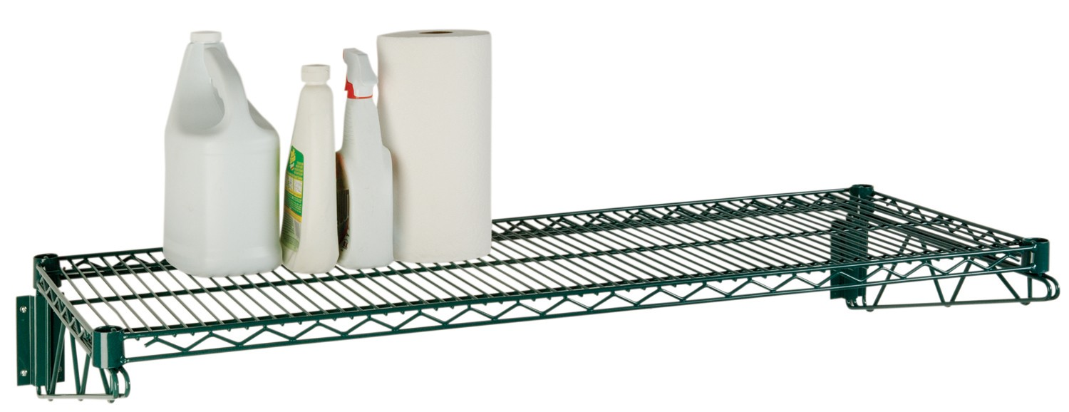Focus Foodservice FWS1448G Green Epoxy Coated Direct Wall Mount Kit