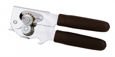 Focus Foodservice 709BK Swing-A-Way Can Opener with Comfort Grip Handle