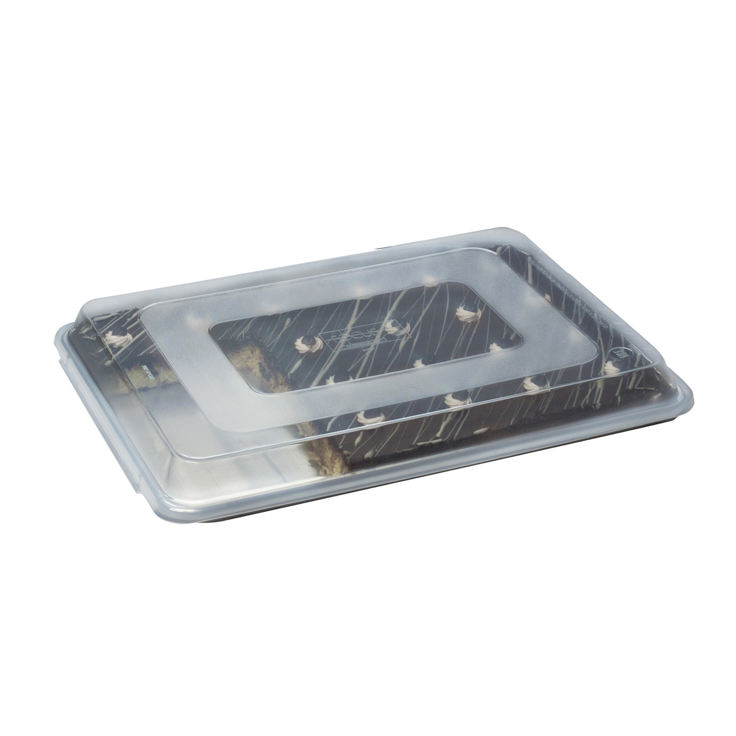 Focus Foodservice 90PSPCQT Quarter Size Plastic Sheet Pan Cover