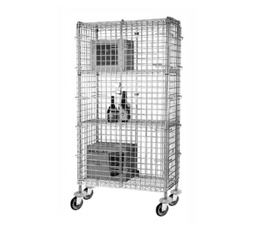 Focus Foodservice FMSEC1848 18'' Security Cage Complete Mobile Kit