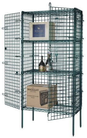 Focus Foodservice FSEC244863GN 24'' Security Cage Kit