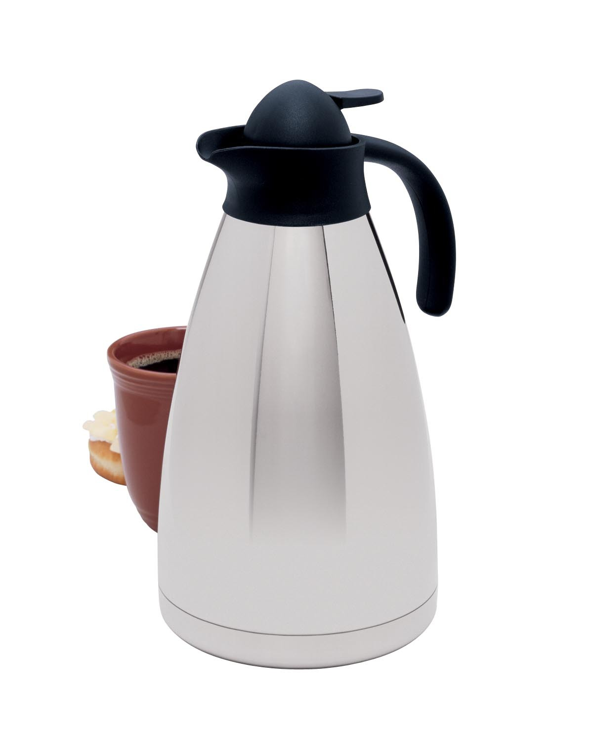 Focus Foodservice KPW9113 Elegance Vacuum Thermal Insulated Carafe 2 Liter