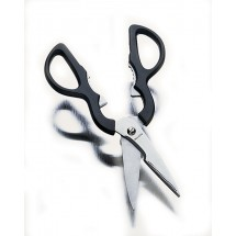 "Focus Foodservice KPSR Kitchen Shears with Stainless Steel Blades 3-1/2"" - 2 doz"