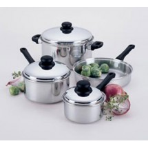 Focus Foodservice KPWB9031CV Stainless Steel Cover for 1 Qt. Sauce Pan - 4 pcs