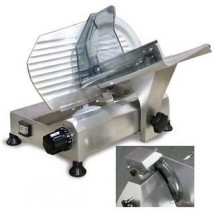 "Omcan (FMA) 195S 8"" Manual Meat Slicer with Fixed Blade Sharpener"