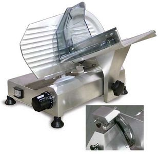 Omcan Fma 195s 8 Quot Manual Meat Slicer With Fixed Blade
