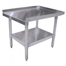 "Omcan (FMA) 22060 Stainless Steel Equipment Stand 48"" x 30"" x 24"""