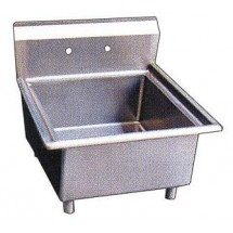 Omcan (FMA) 22118 One Compartment Pot Sink, No Drain Boards