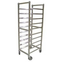 Omcan (FMA) 510SSF 10-Pan Capacity Stainless Steel Pan Rack