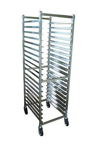 Omcan (FMA) 520SSF 20-Pan Capacity Stainless Steel Pan Rack