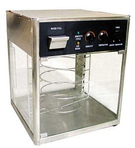 Omcan (FMA) DH18 110V Heated Pizza Display Warmer