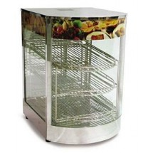 Omcan (FMA) 21829 Countertop 3-Tier Food Warmer/Display Case