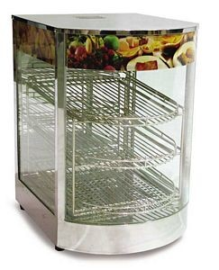 Omcan (FMA) DH1P (3) tier Display Warmer
