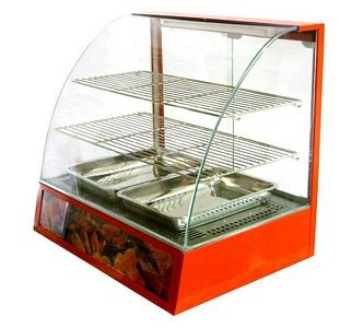 Omcan (FMA) DH2P-FW3-1 (2) tier Display Warmer