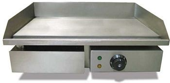 Omcan (FMA) EG818 13.75'' x 21.5'' Electric Griddle