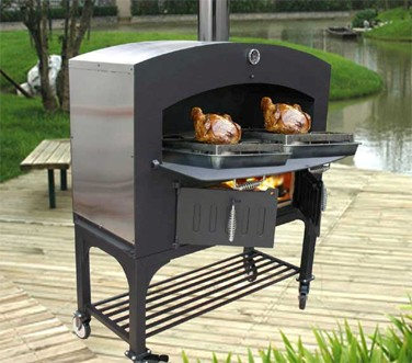 Omcan (FMA) GXD-STAND  Wood Burning Oven Stand