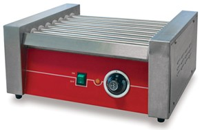Omcan (FMA) HRRG7M 14'' Roller type Hot Dog Grill