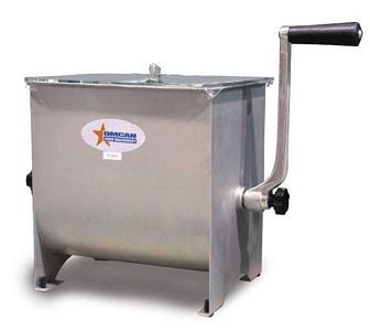 Omcan (FMA) MSSM42 17 lb. Manual Meat Mixer