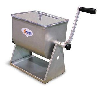 Omcan (FMA) MSSMR17-T 17 lb. Manual Meat Mixer