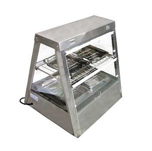 Omcan (FMA) MTWT 2X2 Stainless Steel Display Warmer