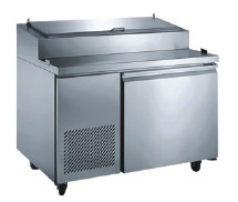 Omcan (FMA) PICL1 One section Refrigerated Pizza Prep Table