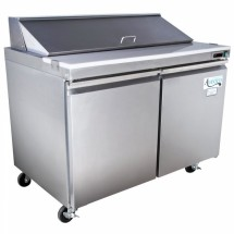 Omcan (FMA) SCL-2 Two section Salad / Sandwich Prep Table