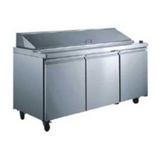 Omcan (FMA) SCL-3 Three section Salad / Sandwich Prep Table