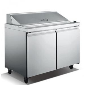 Omcan (FMA) SCL2-60 Two section Salad / Sandwich Prep Table
