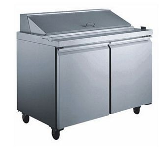 Omcan (FMA) SCLM2-60 Mega Salad / Sandwich Prep Table