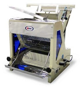 "Omcan (FMA) SM3021 1"" Electric Bread Slicer"