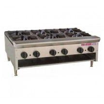 Omcan (FMA) TSHP6-36 (6) burners Hot Plate