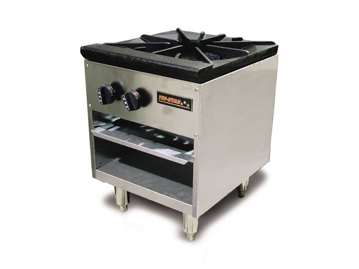 Omcan (FMA) TSSP-18-2 Natural gas Stock Pot Stove