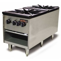 Omcan (FMA) TSSP182D 24''H x 18'' Double Stock Pot Range