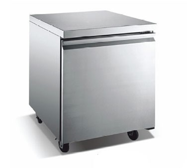 Omcan (FMA) TUC27F One section Reach in Under Counter Freezer
