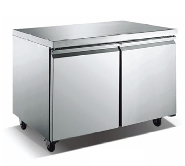 Omcan (FMA) TUC48F Two section Reach in Under Counter Freezer
