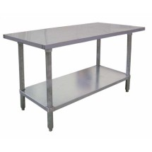 Omcan (FMA) WTSN2472SS 24'' x 72'' Work Table