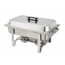 TigerChef Full Size Chafing Dish with Pan and Lift-Up Lid 8 Qt.