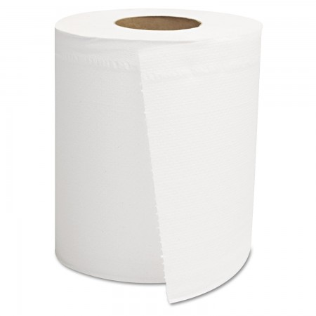 GEN Center-Pull 2-Ply Roll Paper Towels, White, 8