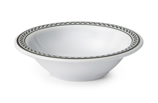 GET Enterprises B-127-X Diamond Chexers Melamine Bowl 12 oz.- 2 doz