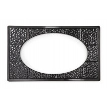 GET Enterprises ML-192 Melamine Full Size Adapter Plate with One Cut Out for ML-183 or ML-184