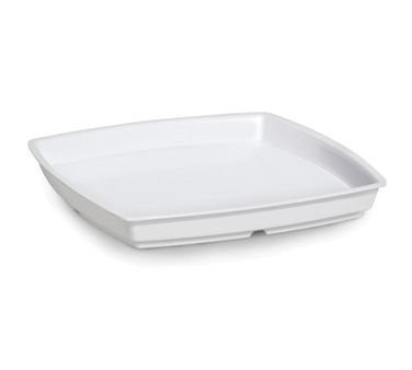 GET Enterprises ML-68-AB-W Milano White Square Bowl Insert for ML-68 28 oz.
