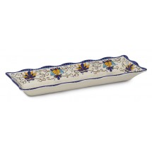 "GET Enterprises ML-87-SL Santa Lucia Tray 17-1/4"" x 6-3/4"" - 1/2 doz"