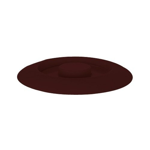 "GET Enterprises TS-800-L-BR Brown Replacement Lid for Tortilla Server 7-3/4"" - 1 doz"