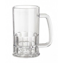 GET Enterprises 00084-1-TRITAN-CL Tritan Beer Mug 12 oz. - 2 doz