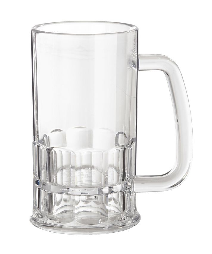 GET Enterprise  00084-1-TRITAN-CL 12 oz.  Beer Mug - 2 doz
